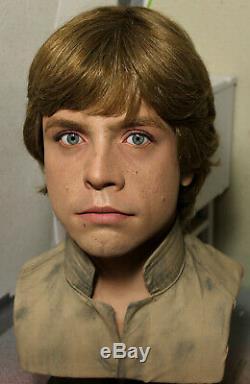 1/1 Lifesize CUSTOM Luke Skywalker Bespin bust Vintage Star Wars prop IN STOCK