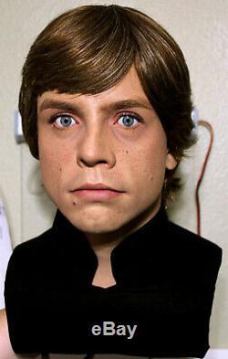 1/1 Lifesize CUSTOM Luke Skywalker bust Vintage Star Wars ROTJ prop IN STOCK