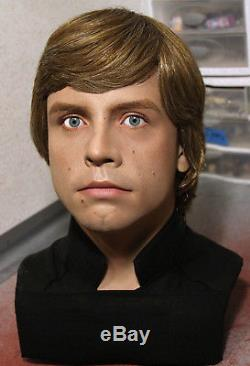 1/1 Lifesize CUSTOM Luke Skywalker bust Vintage Star Wars ROTJ prop PREORDER