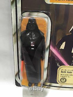 12 back Darth Vader TAKARA sticker Star Wars vintage Japanese Kenner 3 3/4 MOC