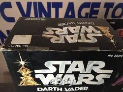 1977 VINTAGE KENNER STAR WARS DARTH VADER 15 Factory Sealed Acrylic Case MISB