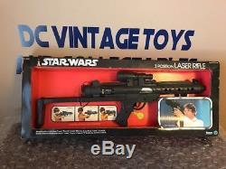 1978 STAR WARS 3 POSITION LASER RIFLE Vintage blaster Kenner gun Stormtrooper