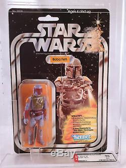 1978 Star Wars Boba Fett MOC Action Figure 21-B Vintage Kenner AFA 70 RARE