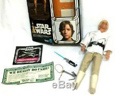 1978 Vintage Star Wars Luke Skywalker 12 Inch Figure Doll Boxed Complete FREESHP
