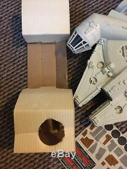 1981 Vintage Star Wars Millennium Falcon RARE MONO Rotj Box Boxed Millenium