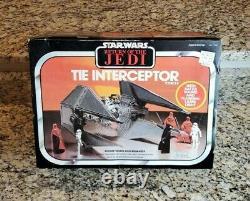 1983 Tie Interceptor STAR WARS Vintage Original NEW Sealed MISB