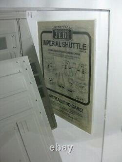 1983 Vintage Star Wars Imperial Shuttle Kenner Rotj Rare Ukg 85 E33