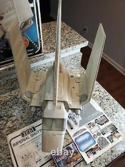1984 Imperial Shuttle STAR WARS Vintage Original COMPLETE WORKING Decals BOX