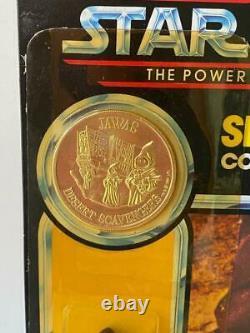 1984 Star Wars Vintage POTF JAWA MOC Punched EXCELLENT cond. 92 back