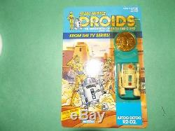 1985 Vintage Star Wars Droids Cartoon R2D2 Unpunched! Super Nice! RARE