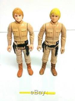 31 Vintage Kenner Star Wars Empire Strikes Back Figures, ESB case & Weapons Lot