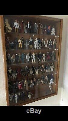 98 x Different Star Wars Vintage Kenner Figures (Original Weapons, last 17 Rare)