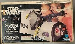 COMPLETE Vintage 1977 Kenner Star Wars X-Wing Aces Target Game MIB! Rare