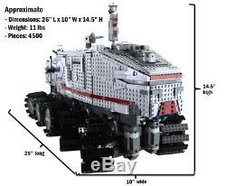 Custom Lego Star Wars UCS RC Clone Turbo Tank 8098 75151 10143 75192 10221 75292
