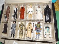 First 21 Vintage Star Wars Complete With Orig. Weapons With ESB Case + more! Minty