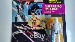 GLASSLITE Vintage Star Wars 1988 Brazil STORMTROPPER MOC Ultra Rare MUST SEE