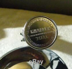 Genuine Vintage Red Graflex 3 Cell Flash Glass Eye Lightsaber Star Wars