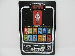 Grand Admiral Thrawn vintage-style Star Wars carded SLC custom 3.75 figure