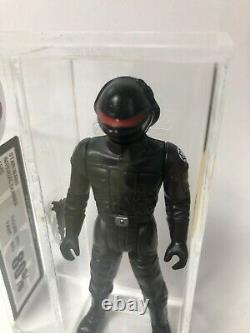 Imperial Gunner UKG Graded Vintage Star Wars Figure Last 17