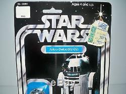 K1711566 R2-d2 Moc W Case Mint On Card Star Wars 1977 12 Back Vintage Original