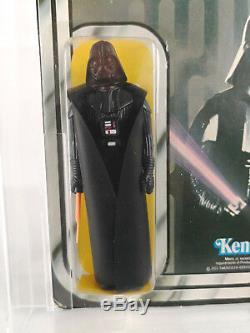 Kenner STAR WARS Vintage Darth Vader 12 Back MOC AFA 80