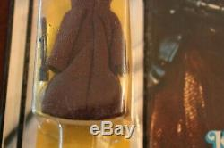 Kenner Star Wars 1977 12 Back JAWA MOC Vintage AFA action figure withcase