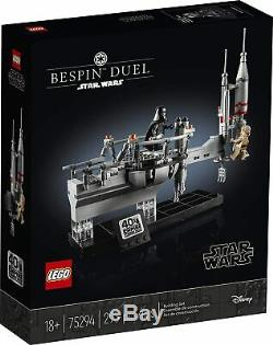 LEGO 75294 Star Wars Bespin Duel Empire Strikes 40th Celebration Building Kit
