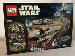 LEGO 7868 STAR WARS MACE WINDU'S JEDI STARFIGHTER -New in Factory Sealed Box