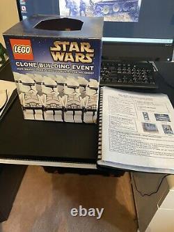 Lego Clone building Event Box Lego Star Wars Walmart Jedi Challenge Event 2002