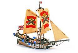Lego Pirates I Set 6271 Imperial Guards Flagship 100% complete vintage rare 1992