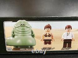 Lego Star Wars 6210 Jabba's Sail Barge Jabba the Hut New in Sealed Box Rare 2007