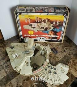 Millennium Falcon 1979 STAR WARS Vintage Original COMPLETE WORKING + FIRST Box