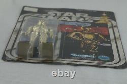 NEAR MINT 1977 Star Wars See-Threepio (C-3PO) on 12 Back Card Vintage Original