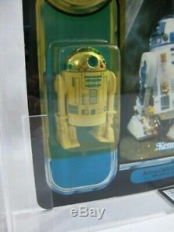 NEW 1985 Vintage Star Wars R2-D2 Pop-up Lightsaber Last 17 POTF UKG 70/85/80