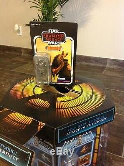 NEW Star Wars TVC Vintage Collection Comic Con SDCC 2012 Carbonite Chamber