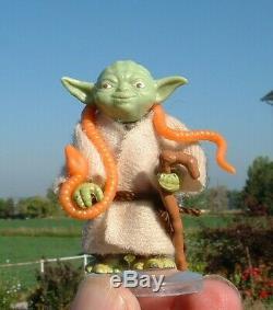 NICE Yoda's Dagobah Playset withVader, Luke, R2D2,1980 ESB Vintage Star Wars