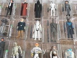 RARE Vintage Star Wars 95 Figure AFA FIGURE Full Complete SET 85 85+ U85 90 U90