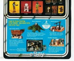 Rare 1979 Star Wars Vintage 21 Back Boba Fett Moc Afa 90 Unpunched Beauty