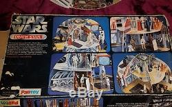 Rare Star Wars Vintage PALITOY DEATH STAR PLAYSET withBox (98% complete)