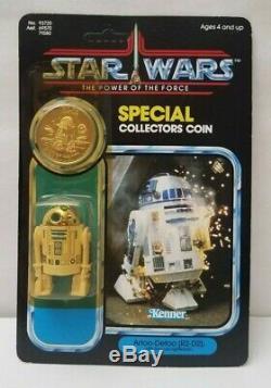 Rare VINTAGE STAR WARS R2-D2 Pop-Up LIGHTSABER Kenner 1984 POTF Last 17 Read