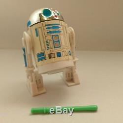 Rare Vintage Star Wars Last 17 Pop Up Lightsaber R2d2 100% Original Mint
