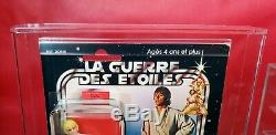 Rare Vintage Star Wars Meccano 20 Back Luke Skywalker Afa 80 Y-nm (80/85/85)