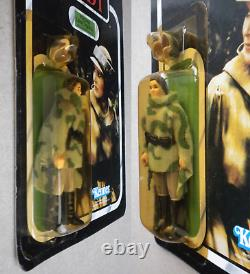 STAR WARS 1983 Kenner MOC Minty UNPUNCHED ROTJ vintage LEIA COMBAT PONCHO Endor