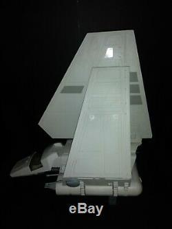 STAR WARS IMPERIAL SHUTTLE Vintage Figure Vehicle ROTJ COMPLETE WORKS 1984