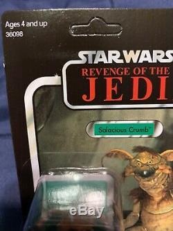 Sdcc Exclusive Salacious Crumb Revenge of the Jedi VC66 Star Wars Vintage Rare