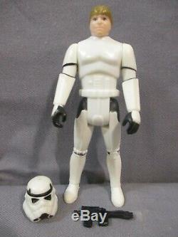 Star Wars 1984 LUKE SKYWALKER STORMTROOPER Complete Vintage Power of the Force