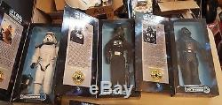 Star Wars 1997 Vintage 12'' inch Collector Series lot of 24
