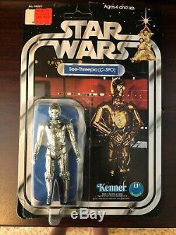 Star Wars C-3PO 12 Back A 1978 Vintage Kenner MOC