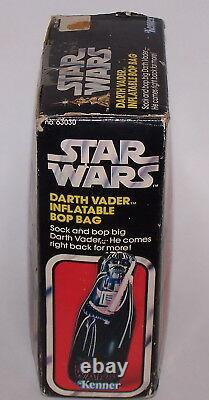 Star Wars Darth Vader 50 Inflatable Bop Bag Kenner 1978 Vintage NIB