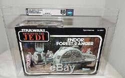 Star Wars Endor Forest Ranger Vehicle AFA 80NM Vintage ROTJ / RARE / Brilliant